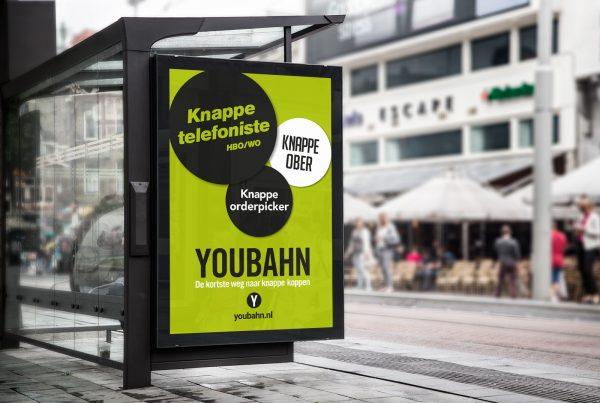 Bus Stop Billboard YouBahn